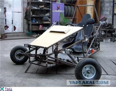 Продам обратный трайк из скутера Honda