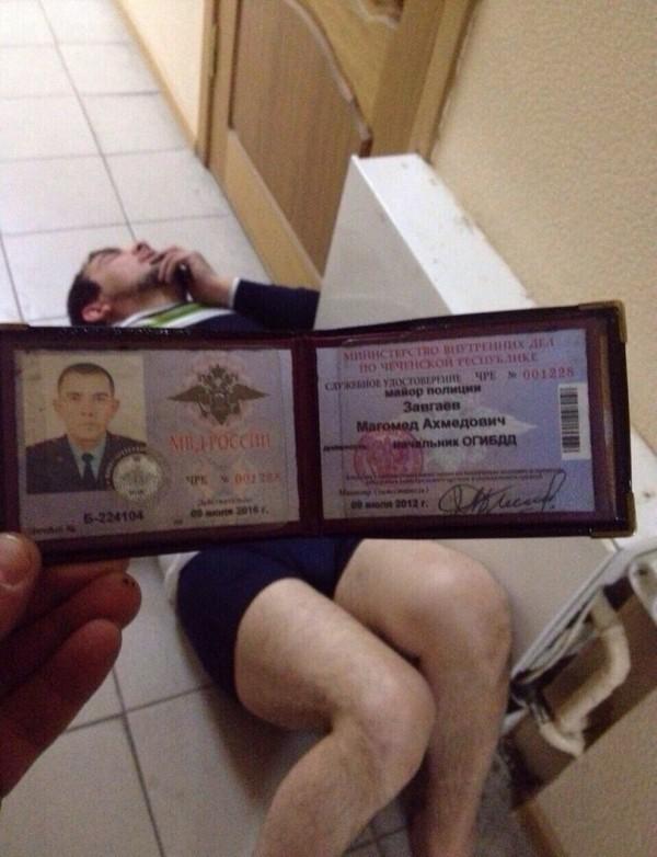 В Пятигорске был найден одолбанный веществами мент