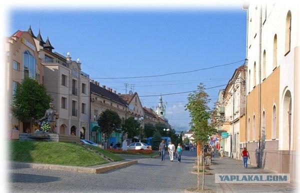 Совсем немного о городе Мукачево