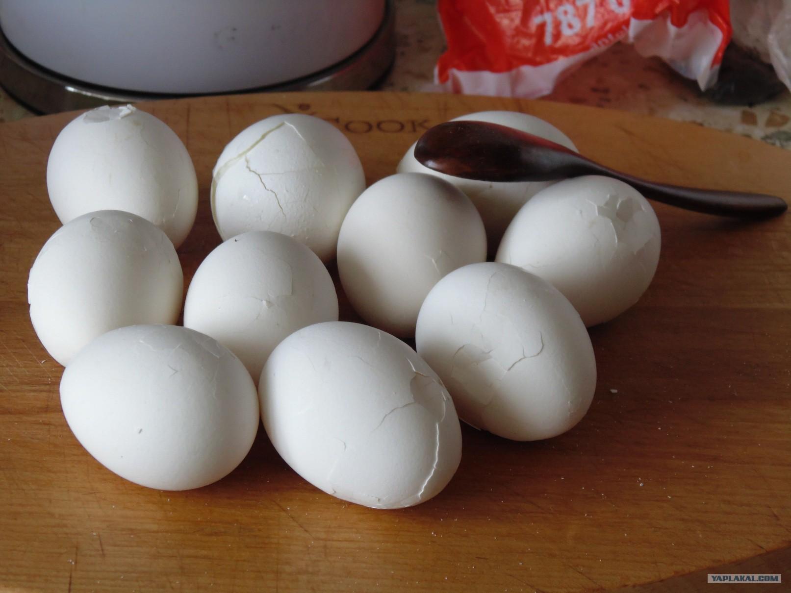 У него яйца отбиты