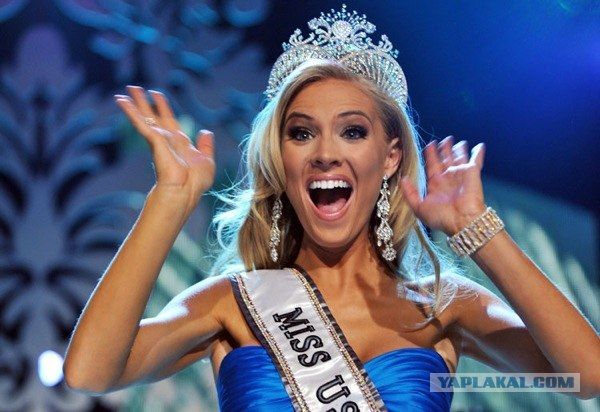 В мисс США-2009 выбрали классическую блондинку
