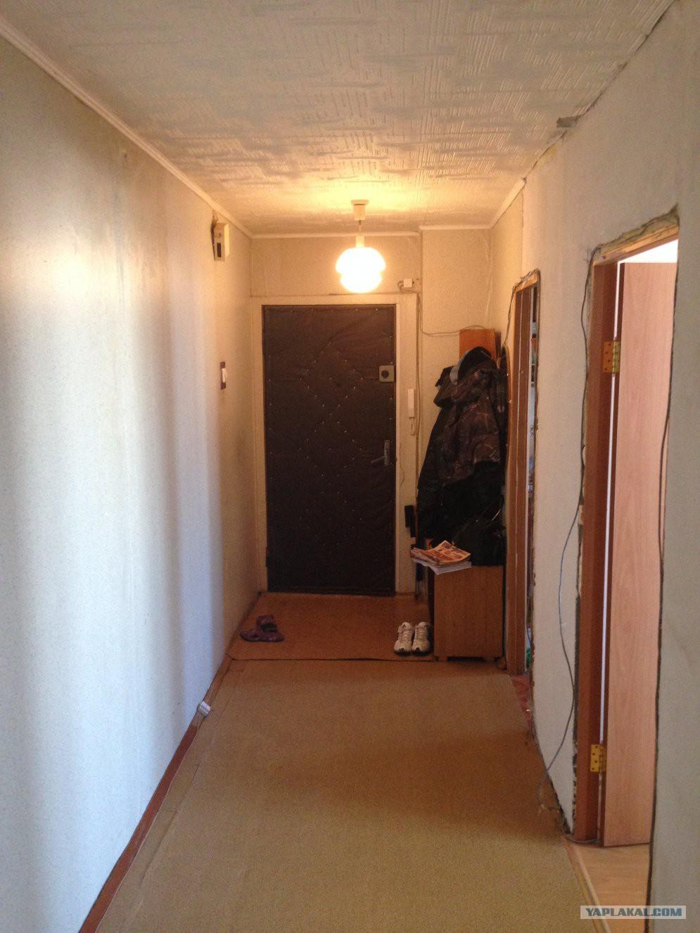 Недорогой ремонт коридора своими руками фото