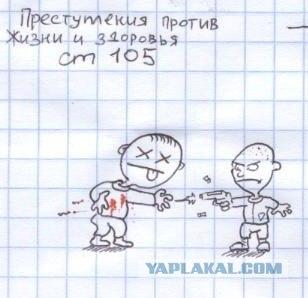 Изучаем УК РФ... в картинках (38 статей :)