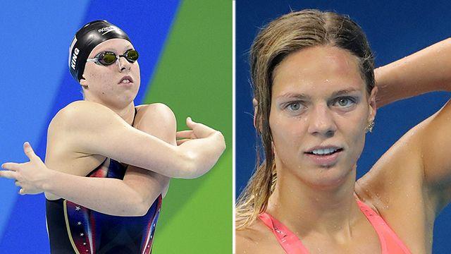 Главная соперница набросилась на пловчиху Ефимову за показанный в Рио палец