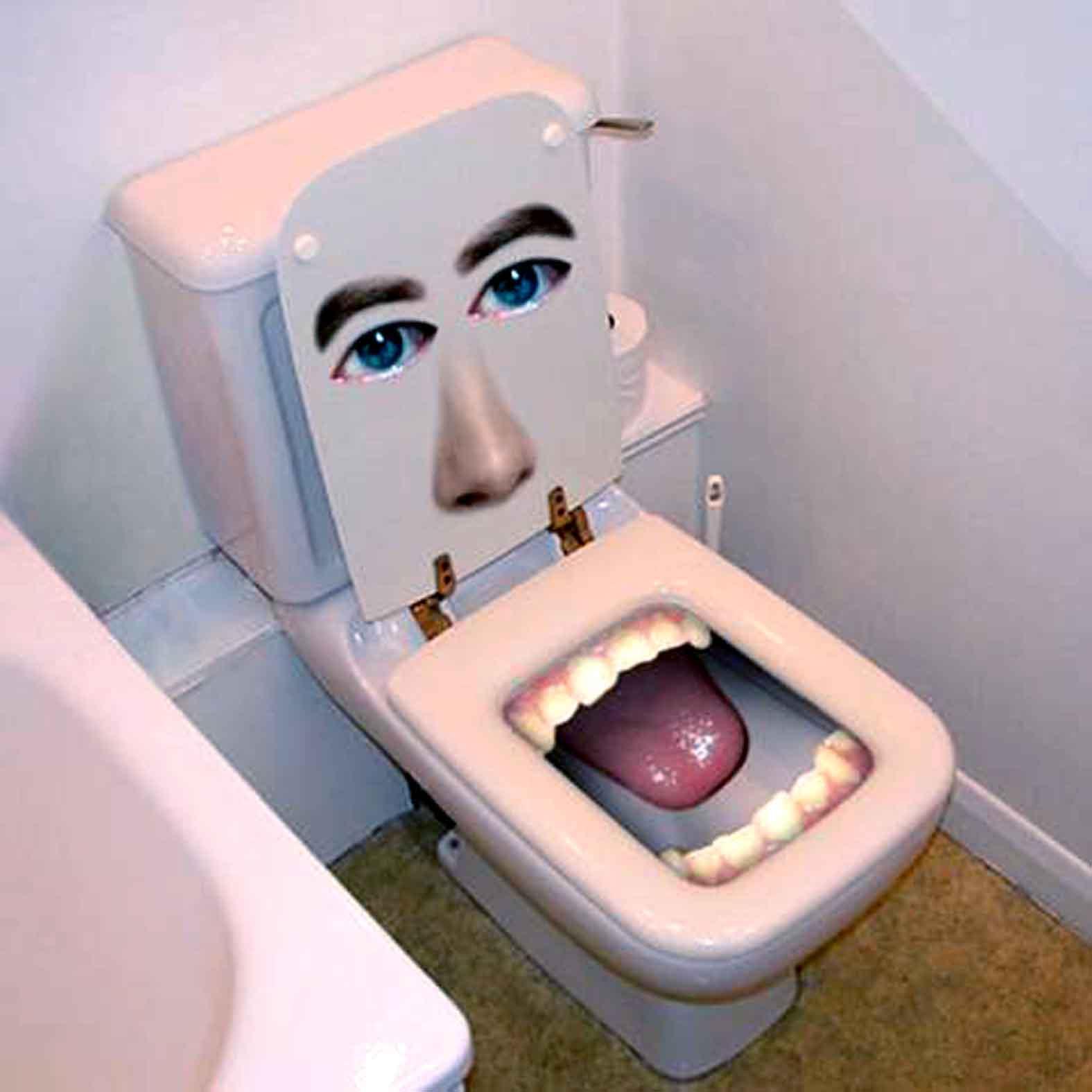 Сама себя в туалете палкой 16 фотография