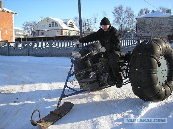 Снегоход своими руками