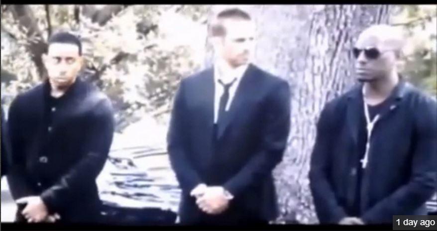 Похороны пола уокера фото видео