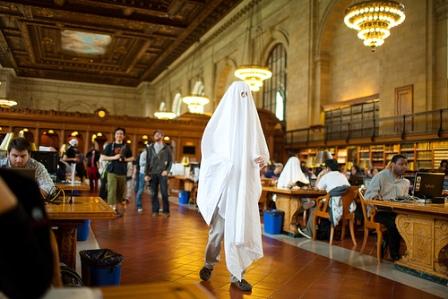 Охотники за привидениями в Нью-Йоркской библиотеке