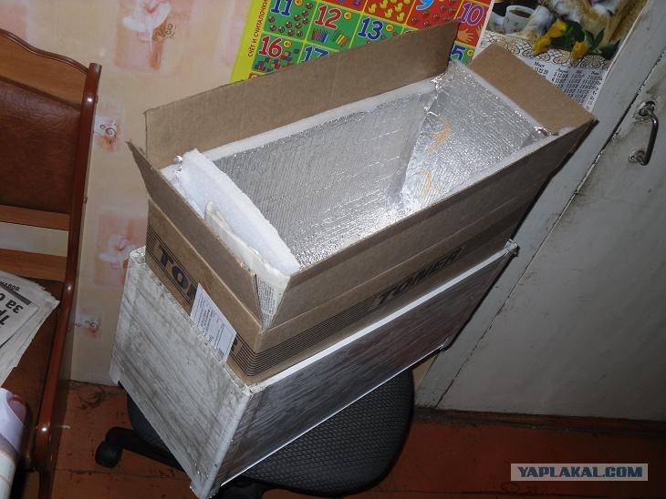 Холодильный короб своими руками