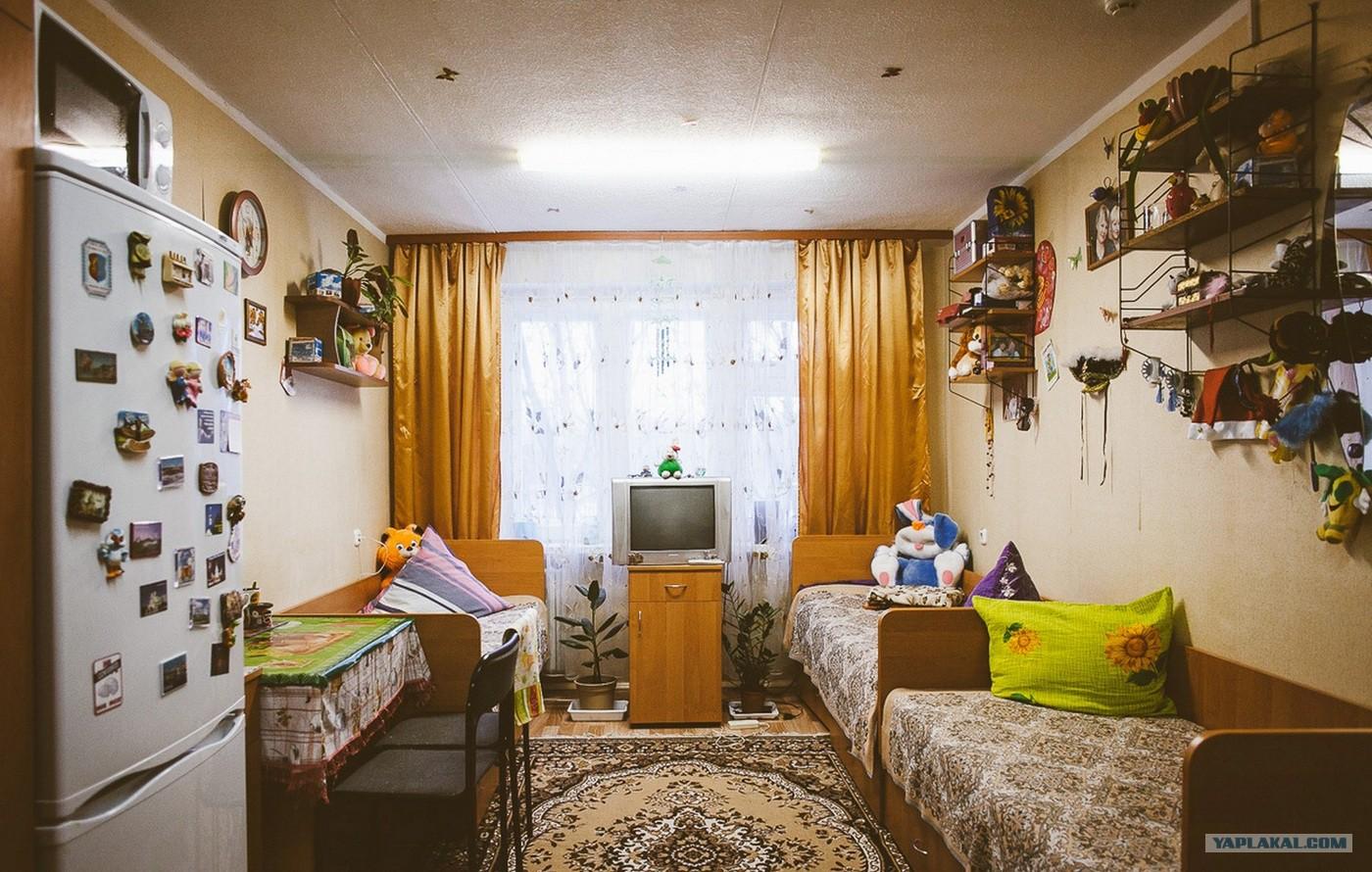 Идея ремонта комнаты в общежитии фото