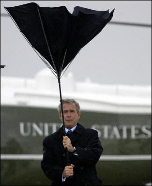 Президент-катастрофа: Джордж Буш.