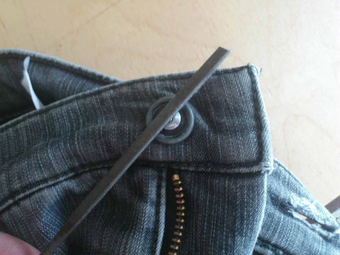 Ремонт пуговицы на джинсах своими руками 46