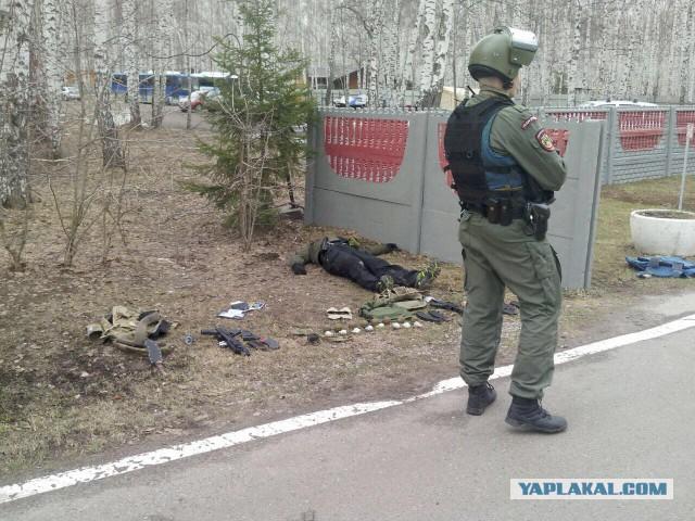 В Казани бывший полицейский застрелил начальника базы МВД