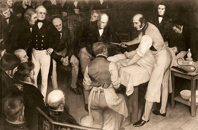 Как лечили людей в XIX веке. 12 иллюстраций
