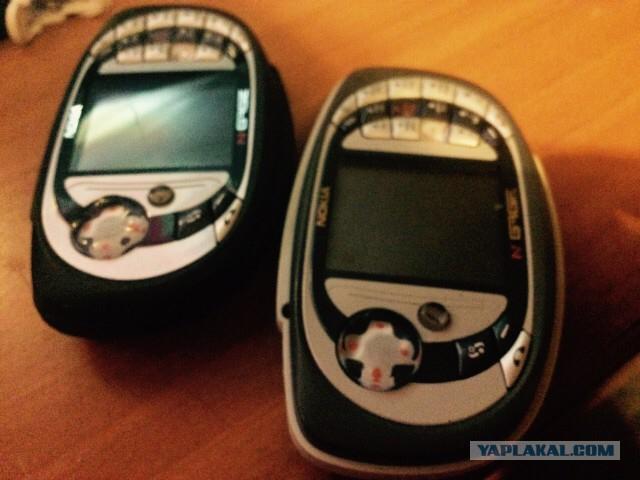 N- Gage ретро телефоны
