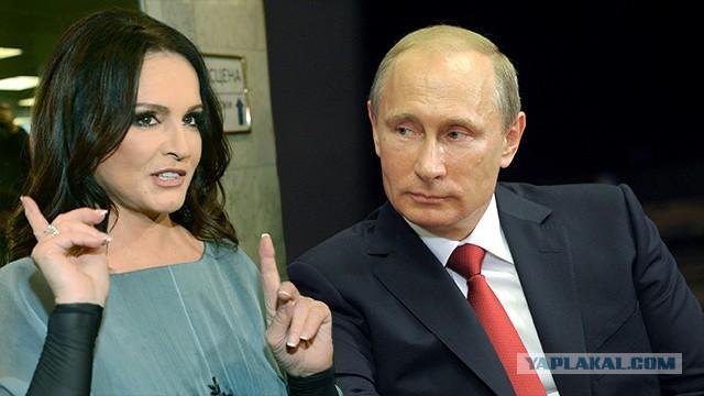 Ротару попросила Путина о российском паспорте