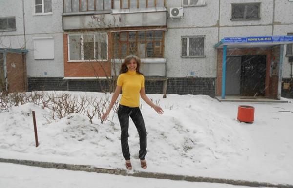Про женщину которой не холодно