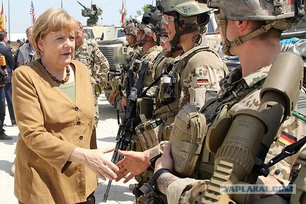 Меркель негодует из-за парадов на 9 мая в Крыму