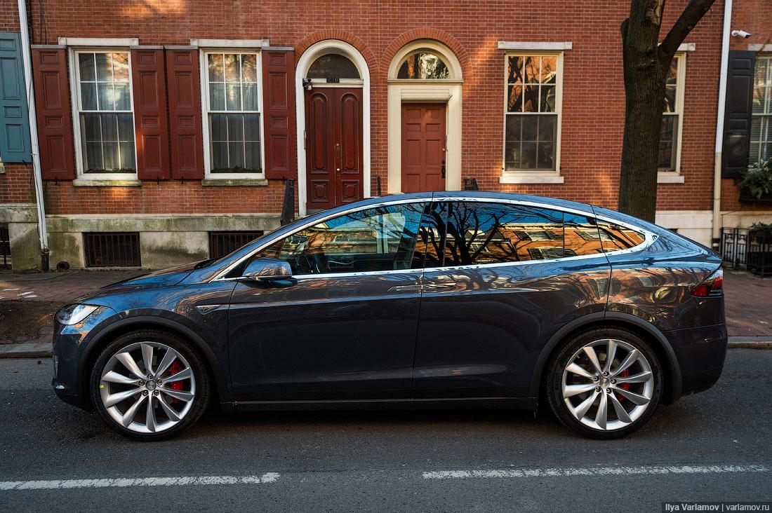 Tesla model s obzor
