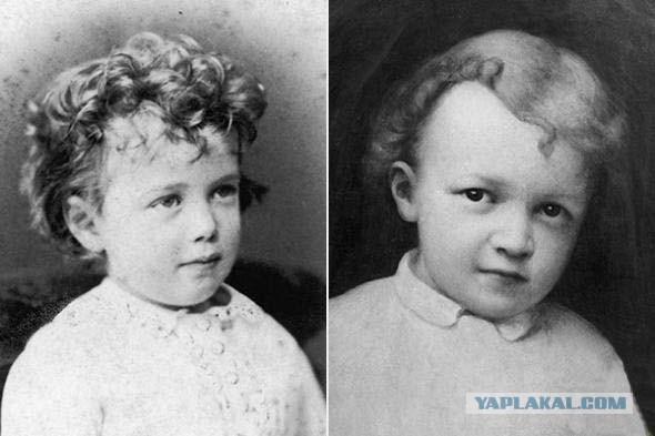 Николай Второй и Владимир Ульянов (Ленин)