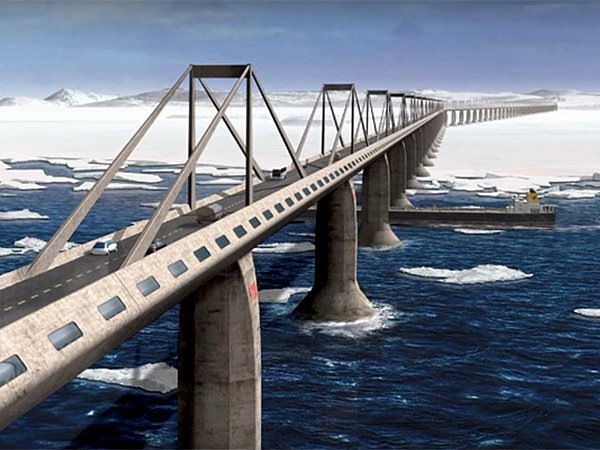 Парламент Сахалина попросил Путина построить мост на остров