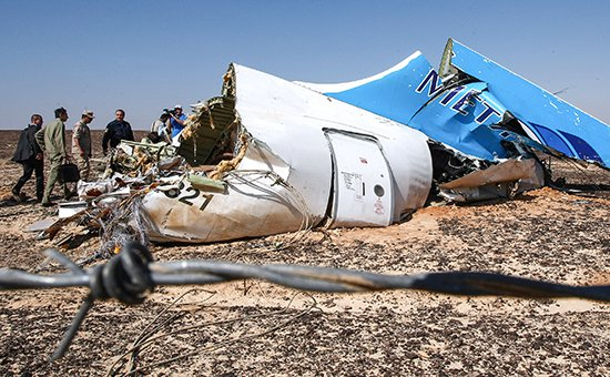 Глава ФСБ: самолет A321 был взорван