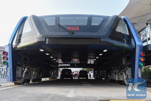 Китайская полиция арестовала 30 человек, причастных к созданию «портального автобуса»