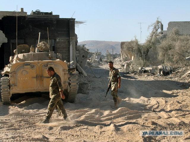 Сирия заявила, что станет кладбищем для агрессоров