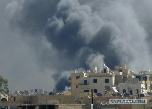 Обама разрешил бомбить  войска Сирии