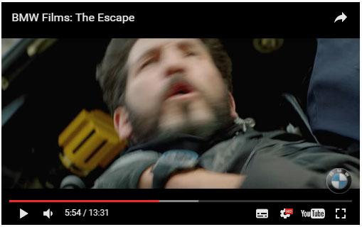 Короткометражка для BMW «The Escape»