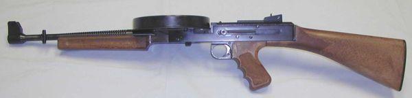 Пистолет-пулемет American-180.