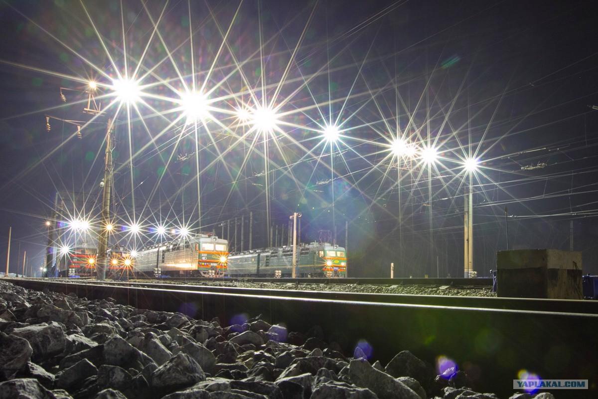 На сортировочной станции Красноярск-Восточный КЖД дороги введена в эксплуат