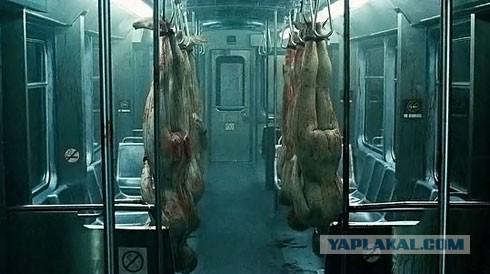 Кадры из фильма кино ужасы про метро