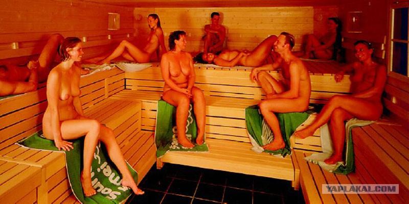 девкам вдули в бане