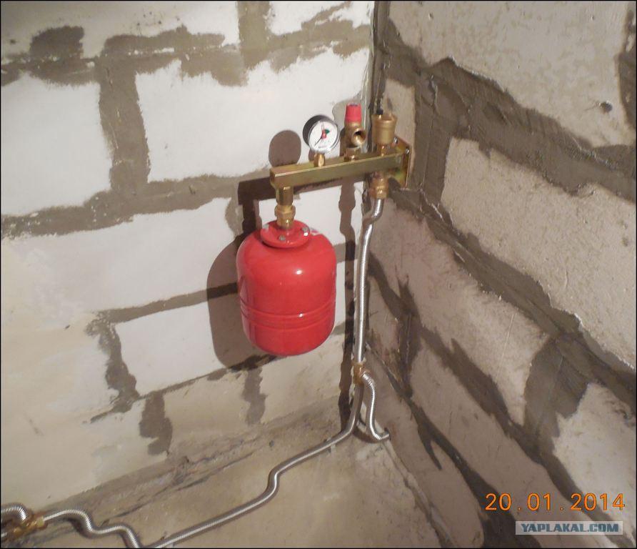Как сделать группа безопасности для отопления