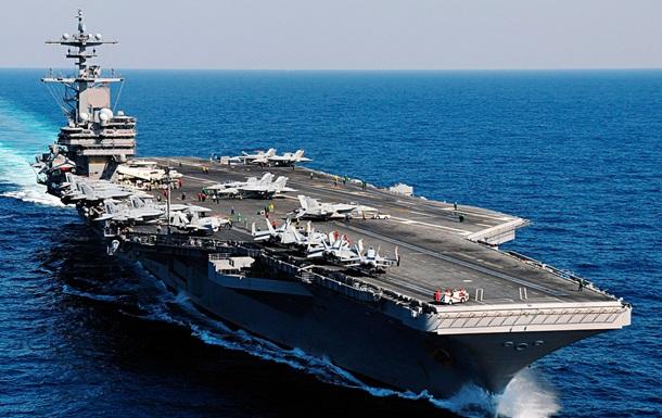 США направили в Черное море авианосец George H.W.