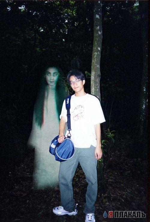 Как сделать себя призраком на фото