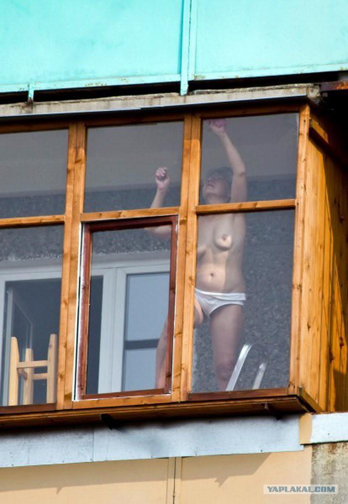 Фото подсмотренное за соседями
