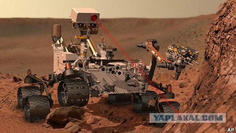 Американский марсоход на Марсе