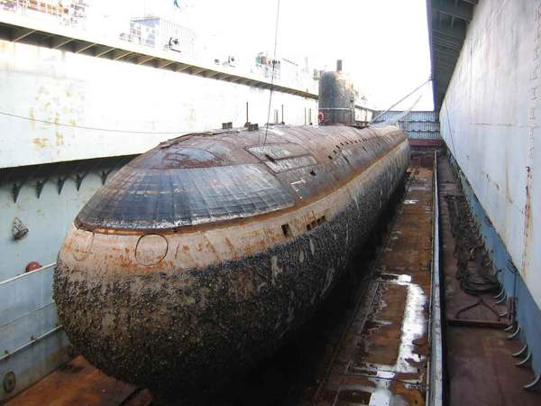 фото советских атомных подводных лодок