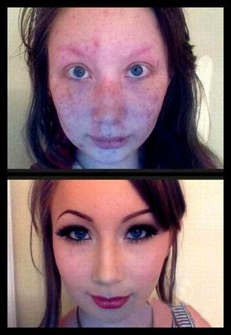 Просят без макияжа