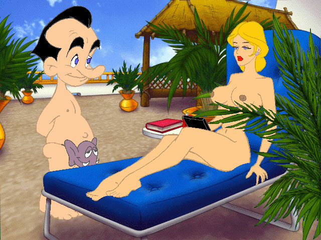 Leisure suit larry love for sail ларри 7 секс под парусом.