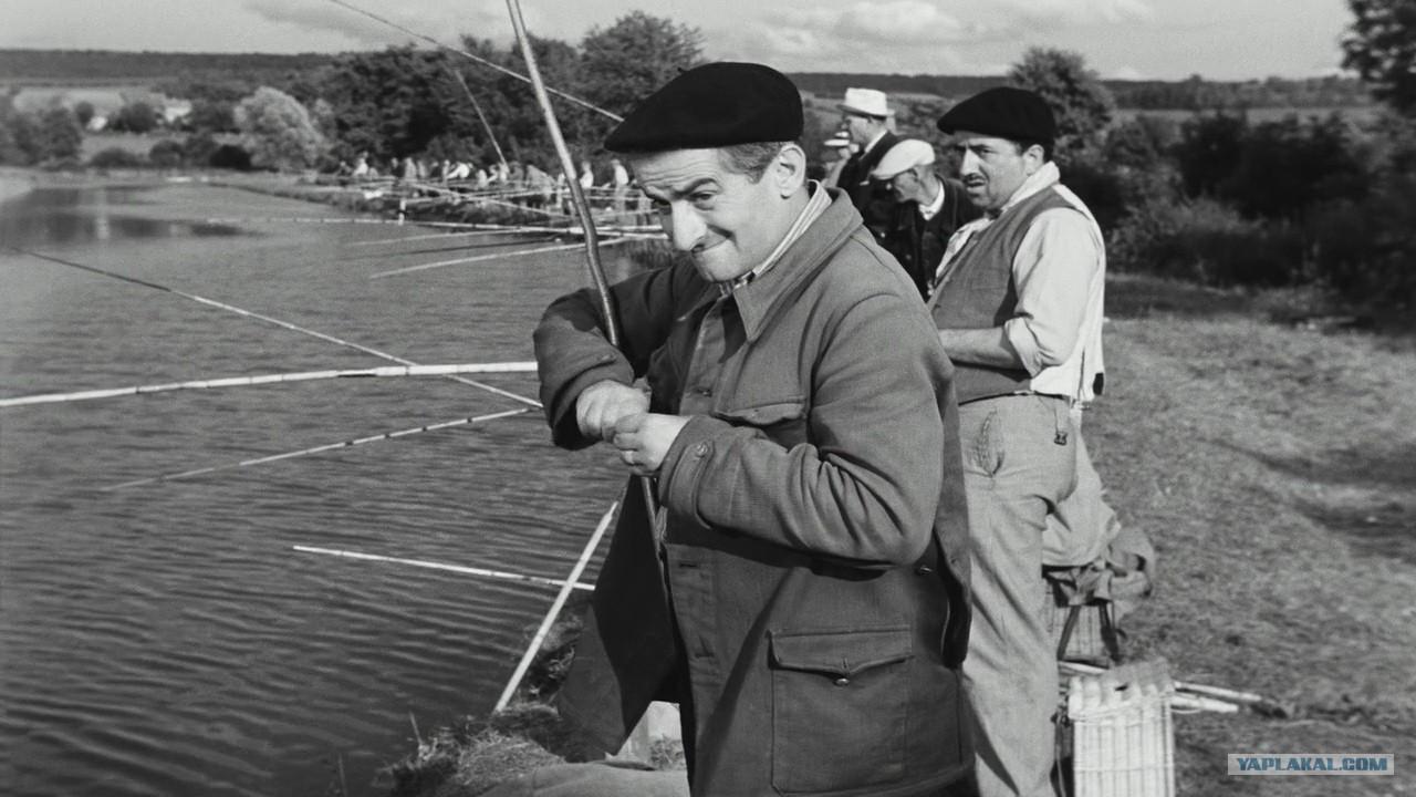 рыбалка с луи де фюнесом видео