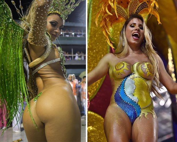крупно фото в стрингах на карнавале