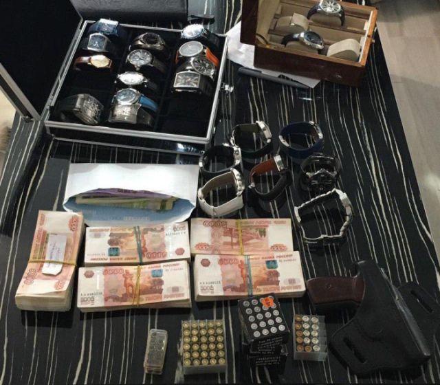 Что нашли в ходе обыска в доме замглавы ФСИН