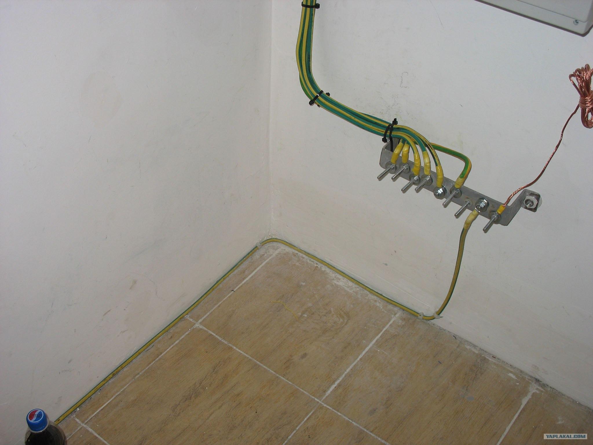 Какое сечение провода для заземления в частном доме своими руками