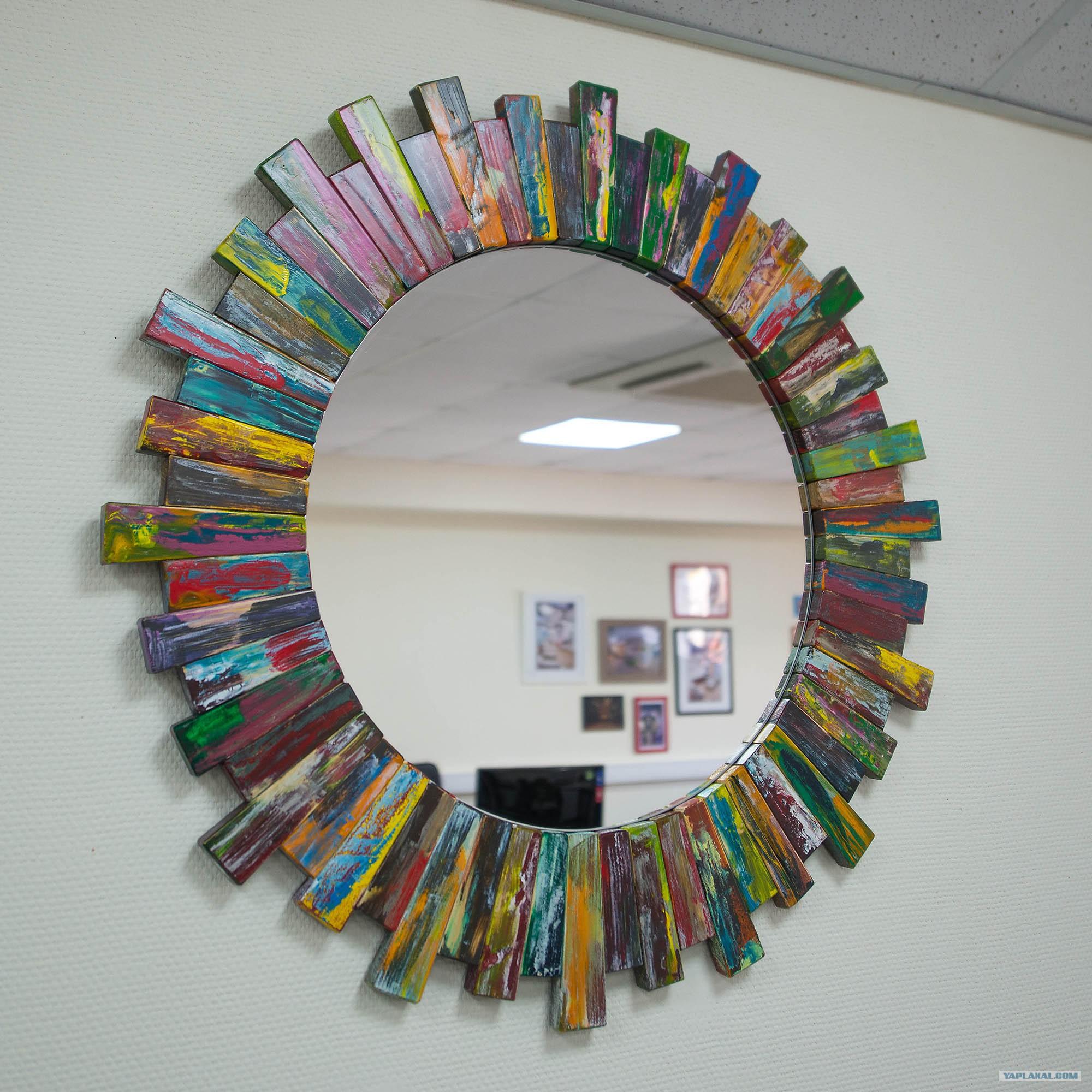Красивые рамки для зеркала своими руками 74