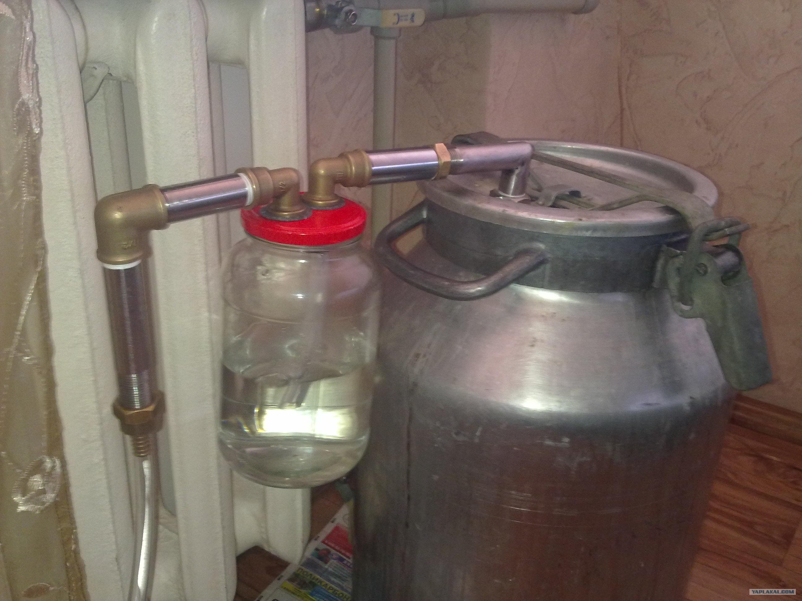 Как сделать самогонный аппарат в домашних условиях - АлкоФан 49