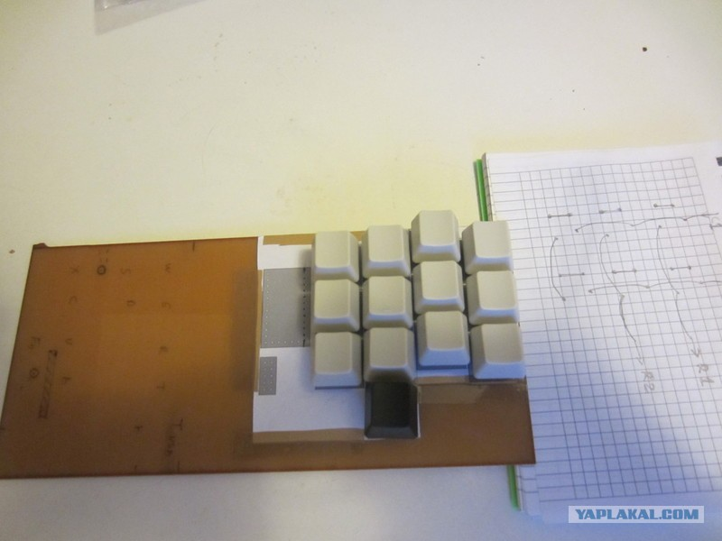 Клавиатура своими руками под