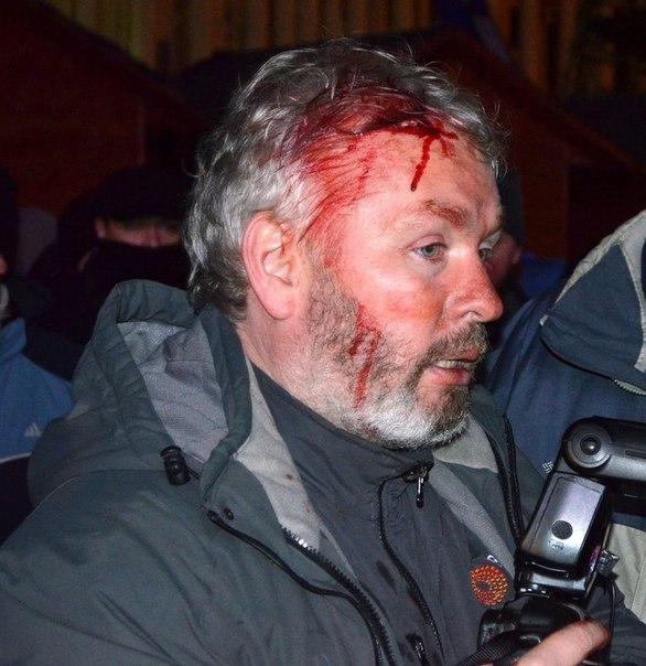 Спецназ сегодня ночью разогнал Евромайдан